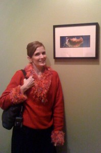 Annaliese's Gallery Show - Photographer and Mermaid