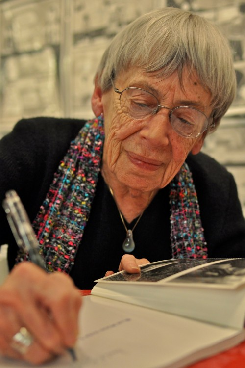 Photograph of Ursula K. LeGuin by K. Kendall on Flickr